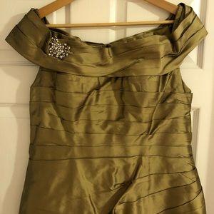 Silk Taffeta Gown